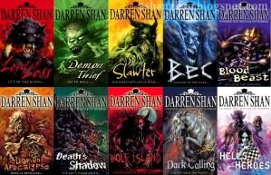 Darren Shan The Demonata Series Collage