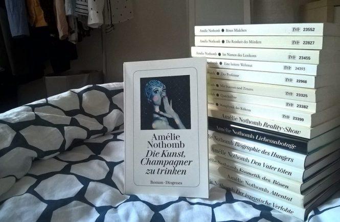 Amélie Nothomb, Die Kunst, Champagner zu trinken