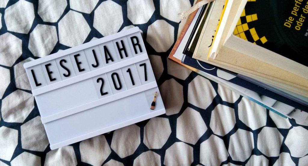 Mein Lesejahr 2017: Highlight-Bonanza und was sonst noch alles passiert ist