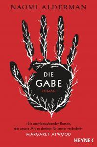Die Gabe von Naomi Alderman, Cover