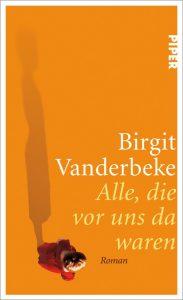 Birgit Vanderbeke, Alle, die vor uns da waren Cover