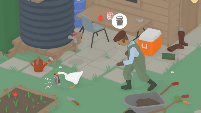 House House: Untitled Goose Game