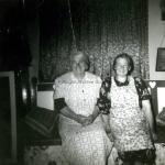 Julie Sullivan and Annie Burke 1955