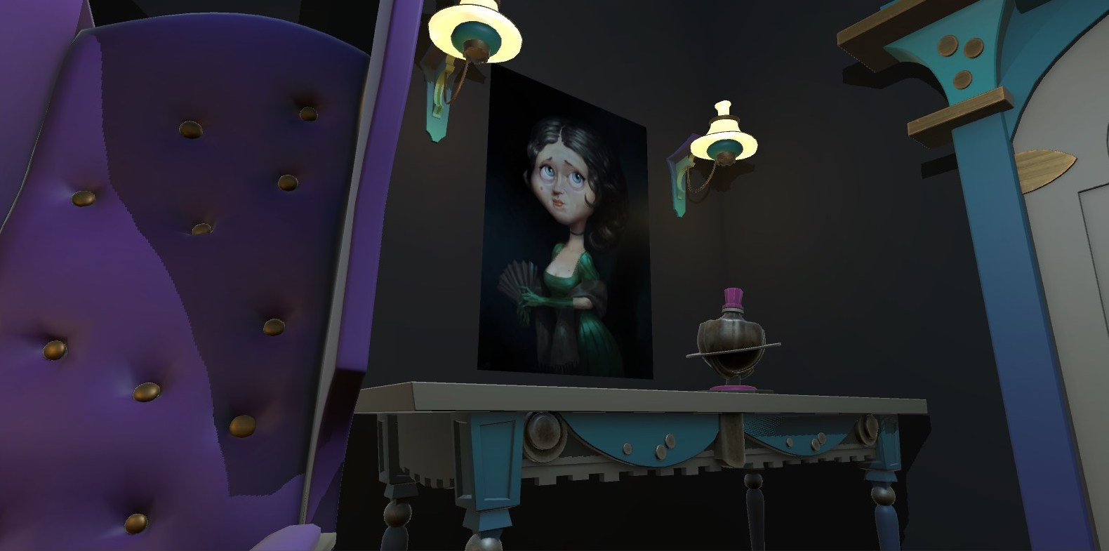 The Raven VR Is Tapping At Your Chamber Door