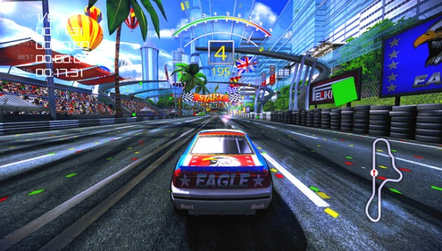 The 90s Arcade Racer is a sign that nostalgia is alive and well on