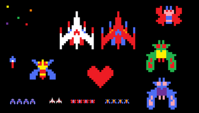 Galaga_Sprites_by_mammaDX