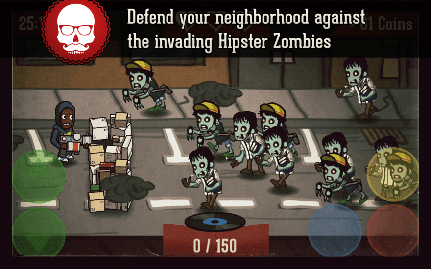 HipsterZombies