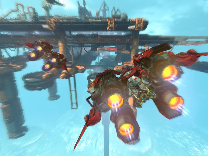 Strike Vector is lovely and completely terrifying - Kill Screen
