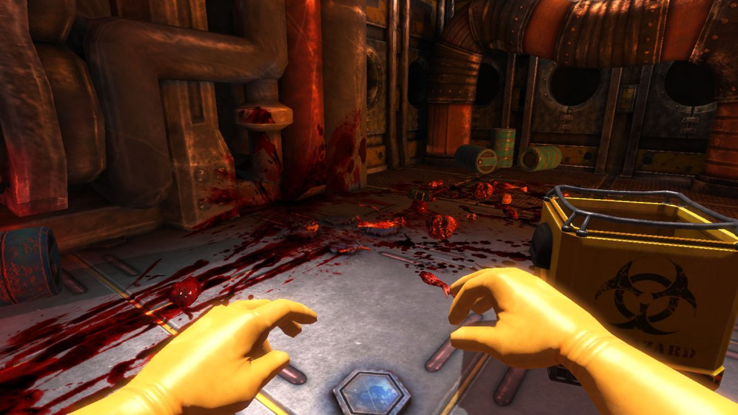 Viscera Cleanup Detail Is What Would Happen If Charlie Kaufman