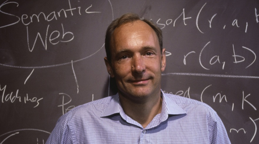 World Wide Web Inventor Tim Berners-Lee