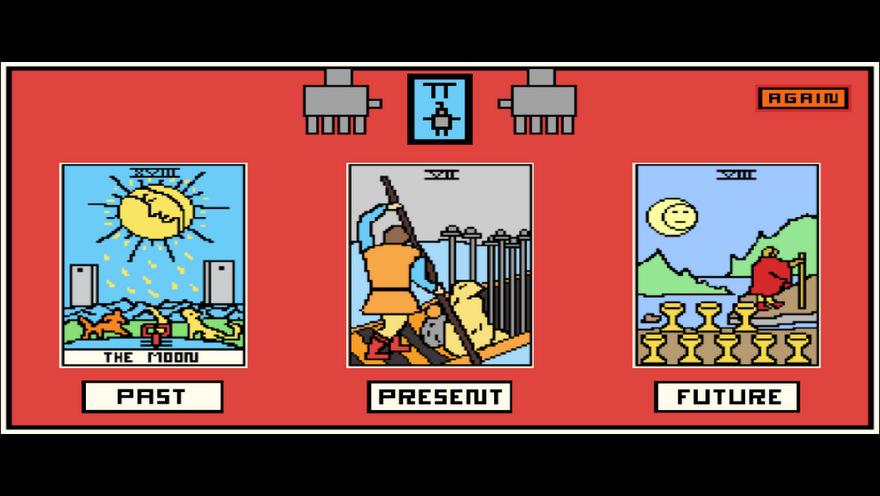 Techno Tarot offers divination on-the-go - Kill Screen