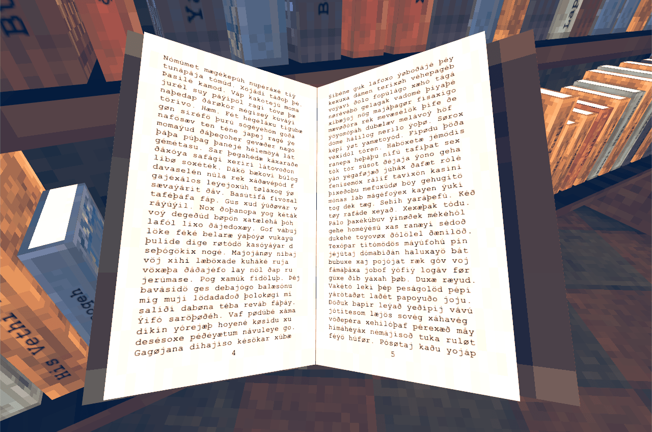 Explore an eternal cathedral of nonsense in Library of