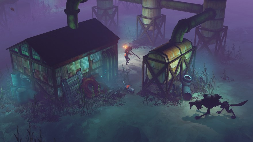 The-Flame-in-the-Flood-review-wolf