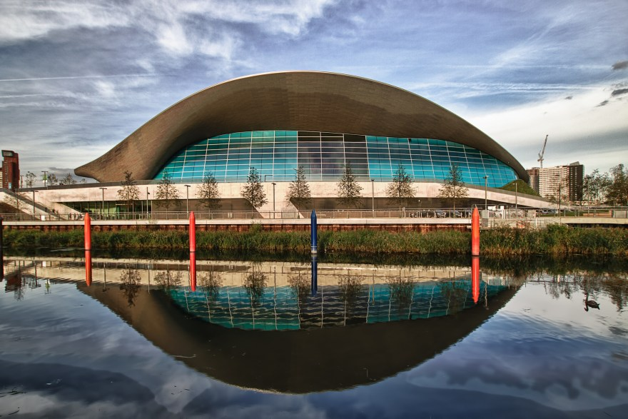 London Aquatics Centre — Artur Salisz (Flickr)