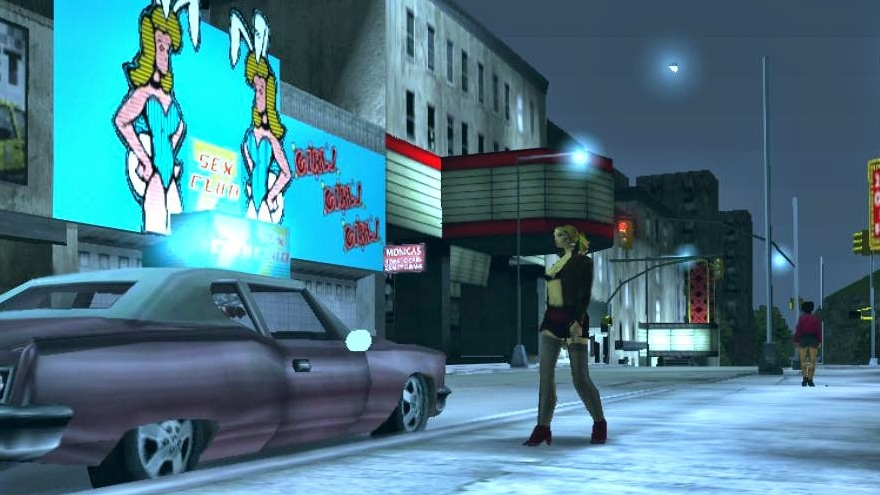 gta iii screenshot street