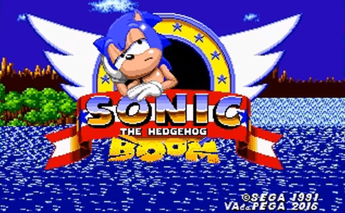 Sonic the Hedgehog Boom