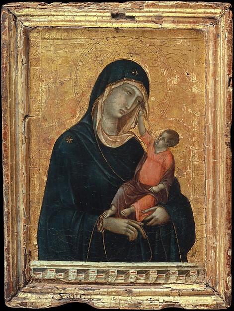 Madonna and Child -- Duccio