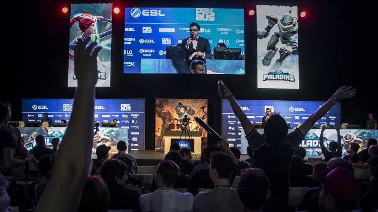 Paladins Tournament in ESL Arena at PAX Australia