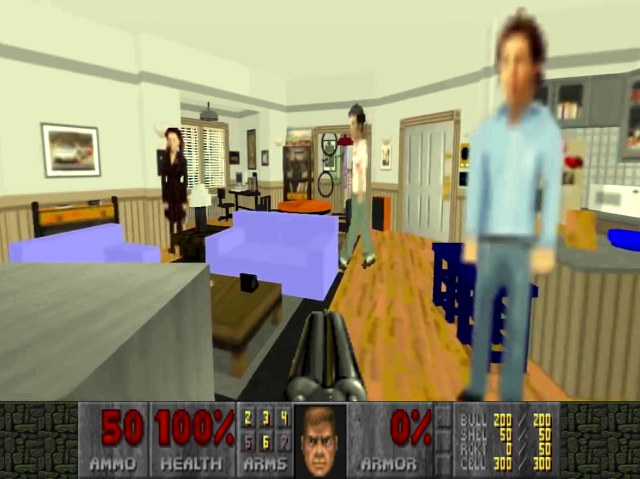 Doom mod lets you hangout with the cast of Seinfeld - Kill