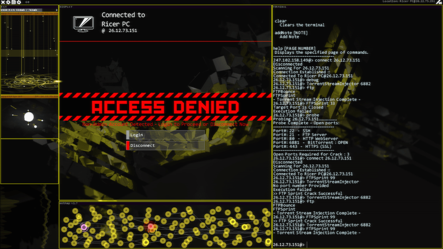 Hacknet Labyrinths RicerScreen