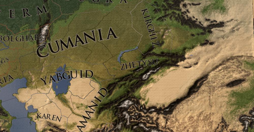 The Crusader Kings II mod capble of generating huge