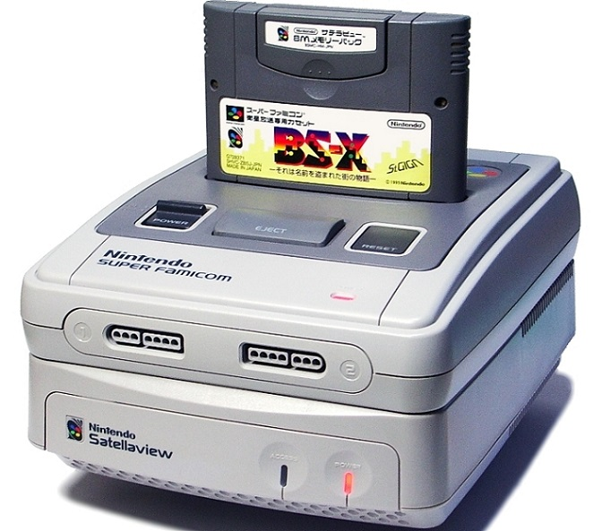 The Stellaview hooked up to a Super Famicom