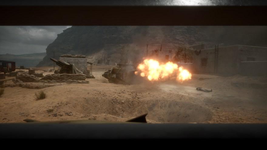 tank fire