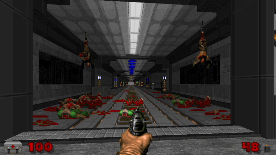 Doom 2 Four Site 300 hour screenshot