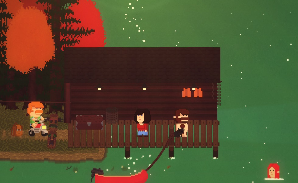 Comedy Is Often Paired With Horror But Not In Videogames At Least Successfully Thats What Makes Lakeview Cabin 2013 Remarkable