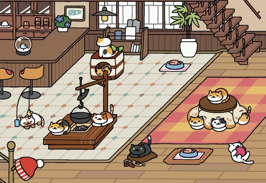 Neko Atsumes Cats Wash Their Faces Now Plus Theres A New