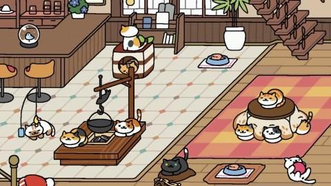 Neko Atsume S Cats Wash Their Faces