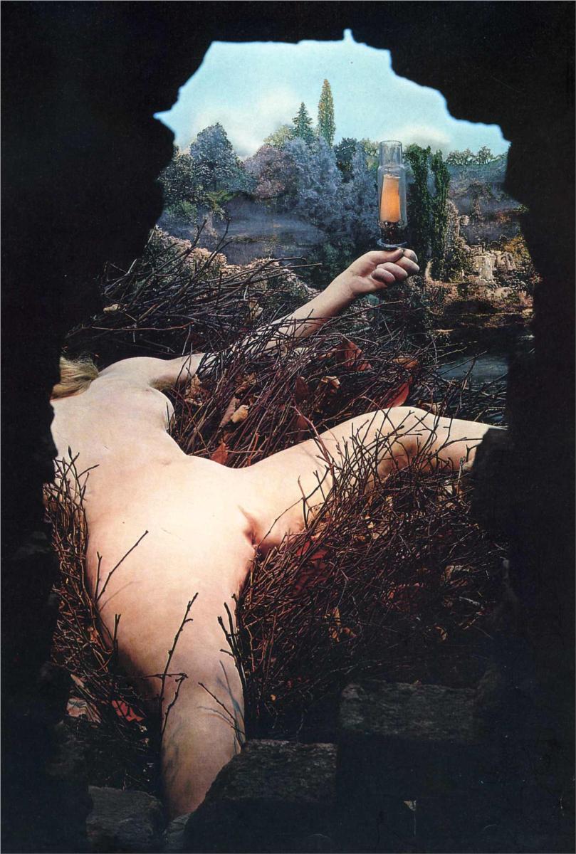 The interior view of Duchamp's Ètant donnes