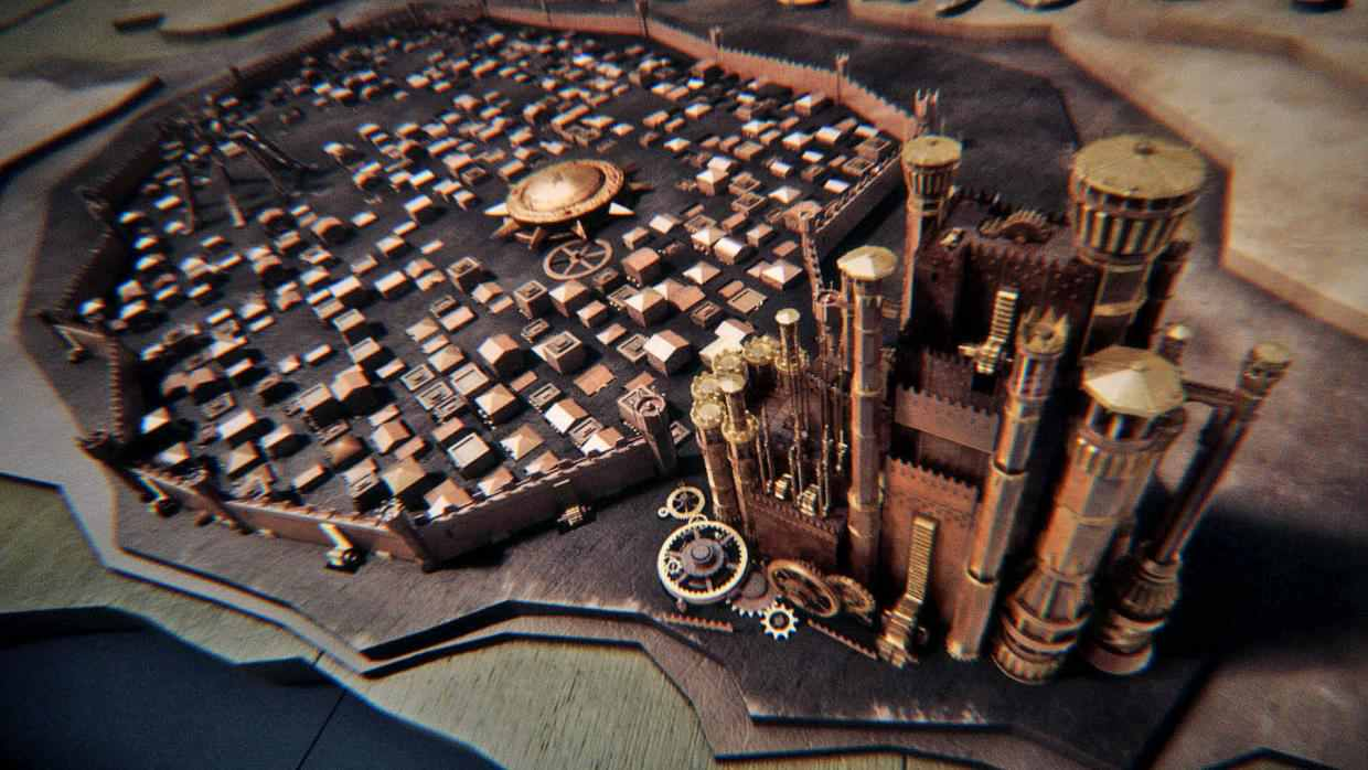 Game of Thrones' iconic opening sequence
