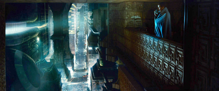 The particular scene from Blade Runner that Johnston reimagined for his VR experience.