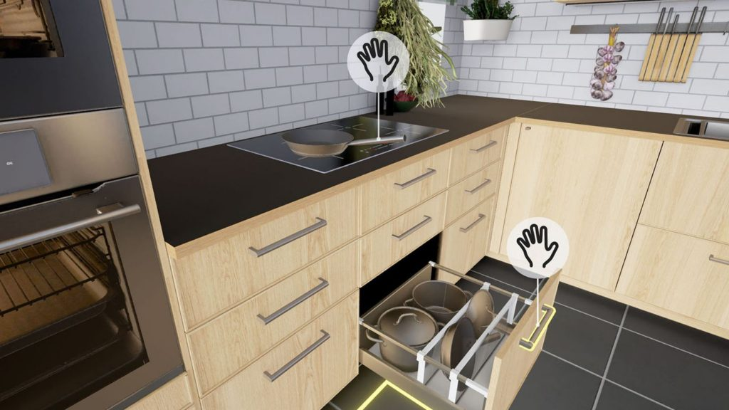 Currently, you can tour a pristine IKEA kitchen in VR.