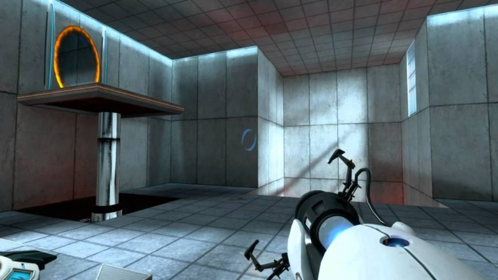 Valve's Portal (2007) is one of Budget Cuts' notable inspirations.