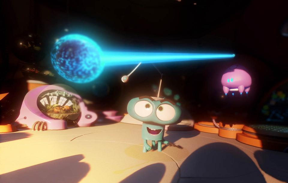 """""""Asteroids!,"""" Baobab."""