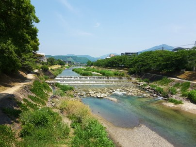 The pretty Takano river