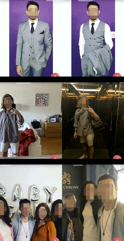 Switch up your clothes between shots so you look like you've put a little effort and thought into your Tinder profile. All of these guys have their duplicate outfit photos right next to each other in their profile, so as you flick through the profile it's really obvious they're wearing the same clothes.