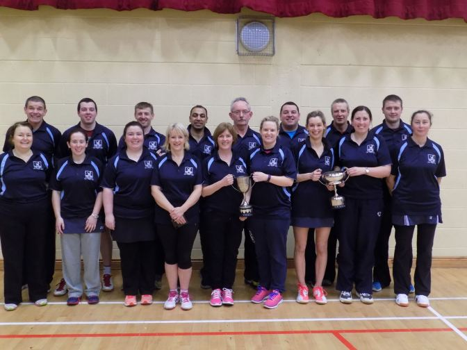 Kilmacthomas Badminton Club Team Photo