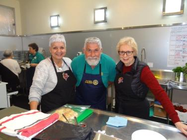 T Cozzolino with Mary and Nancy 2018