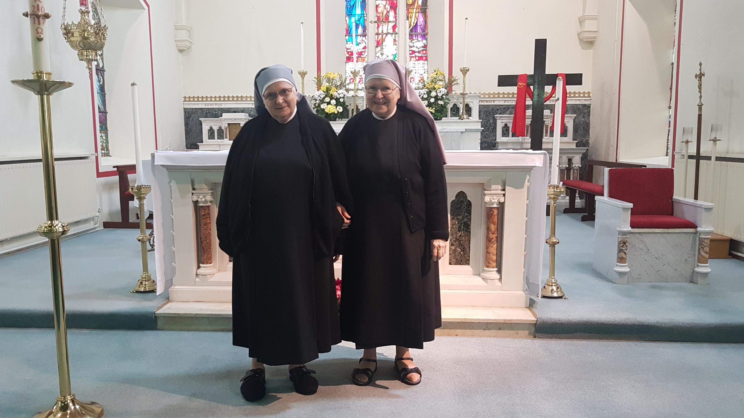 Sisters Visit Home