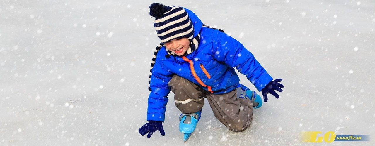 pistas de hielo para ninos