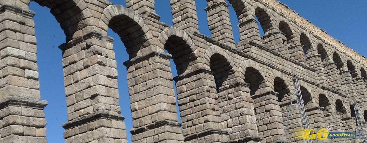 Acueducto Segovia - Kilómetrosquecuentan
