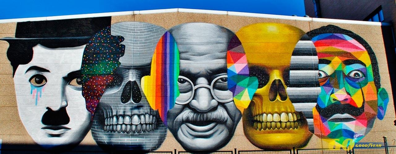 Grafiti de Okuda