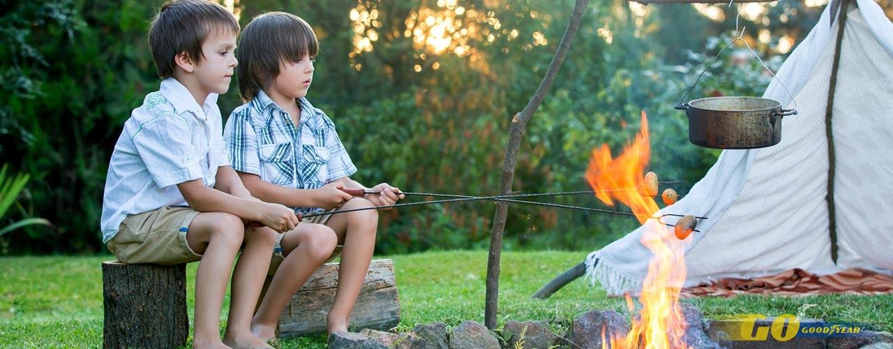 Campings para niños