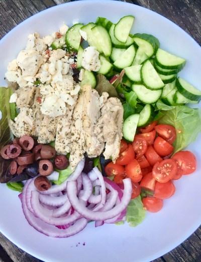 Lemon + Herb Greek Chicken Salad
