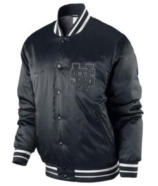 Black Nike Sportswear Varsity Destroyer Herren Jacke Collegejacke NSW Jacket  (2)