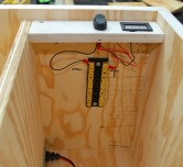 Power breakout with volt meter