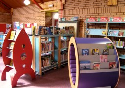 The library - children section